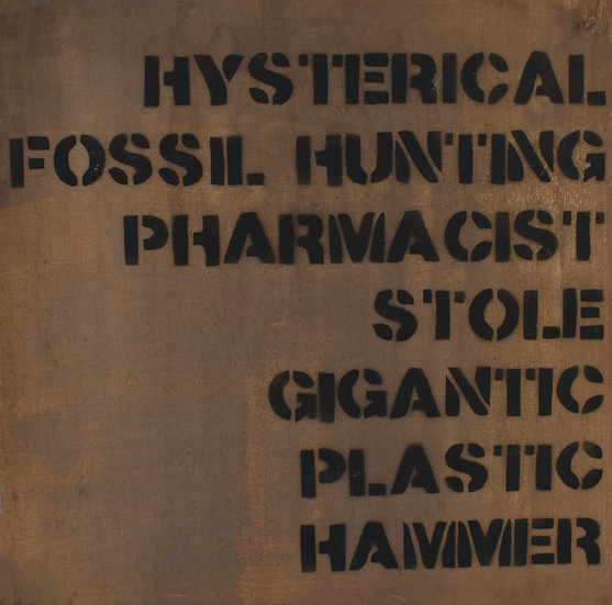 Post Street Fossil Hunting Canvas
