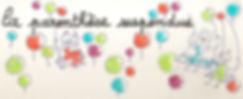 Logo LA PARENTHESE SUSPENDUE