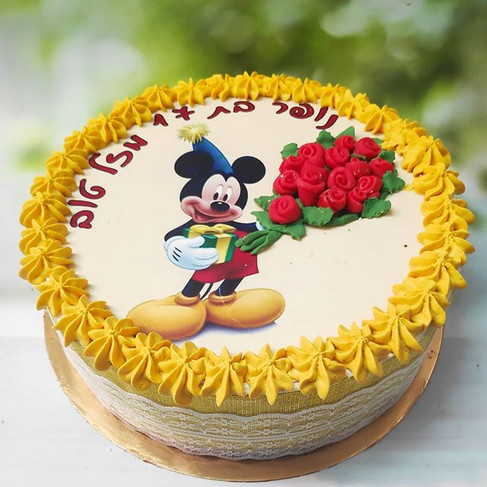 עוגת מיקי מאוס