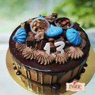 מוס שוקולד קוטר 24