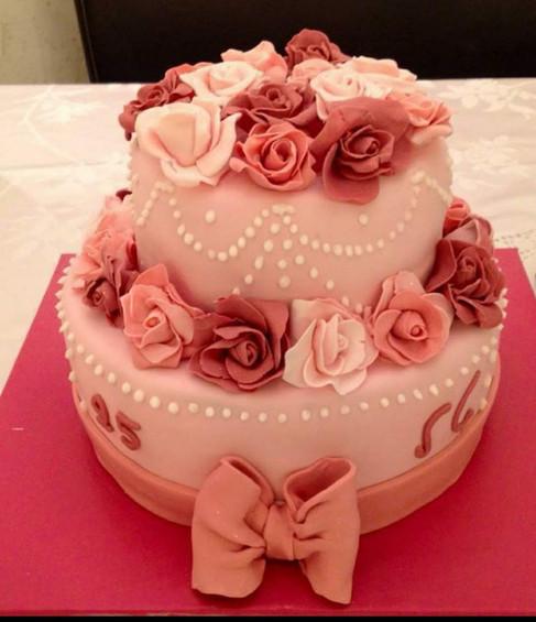 עוגת הפרחים