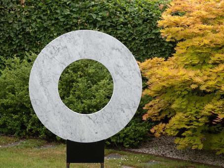 Skulpturutställning i Laholm