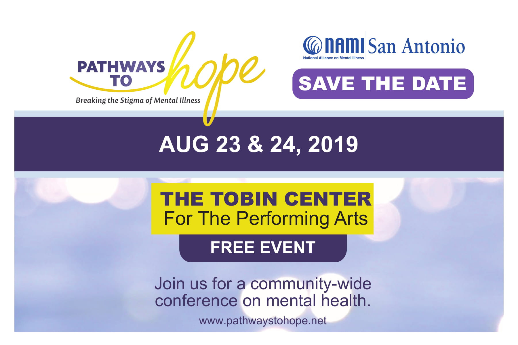 Pathways to Hope: San Antonio Mental Health Conference