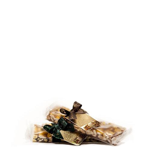 Torrone Siciliano alla mandorla o al pistacchio.