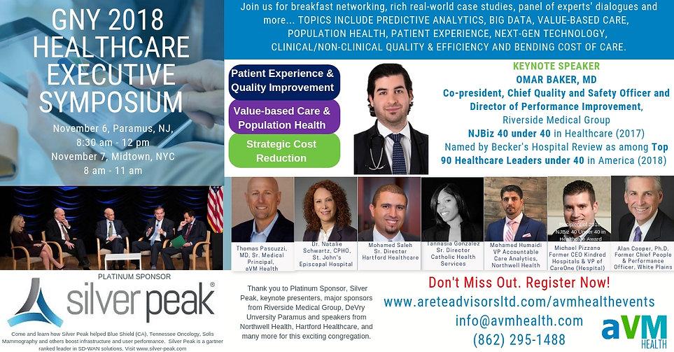 2018 Healthcare Exec Symposium - LI Flye
