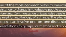 How to bring everyone along on your change journey?