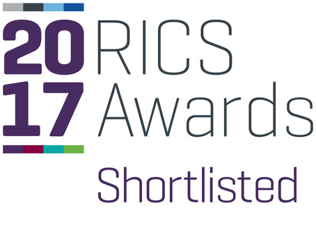Ruins Studio shortlisted for the RICS Award 2017 in the Design through innovation section.