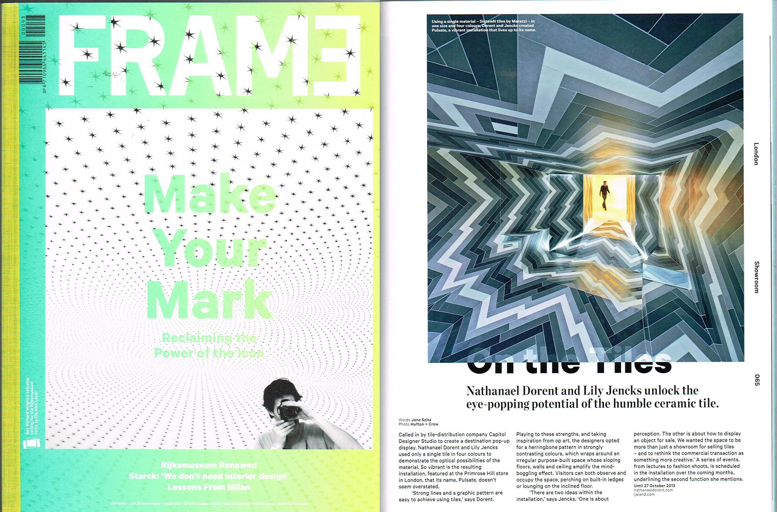 FRAME Magazine Jul/April 2013