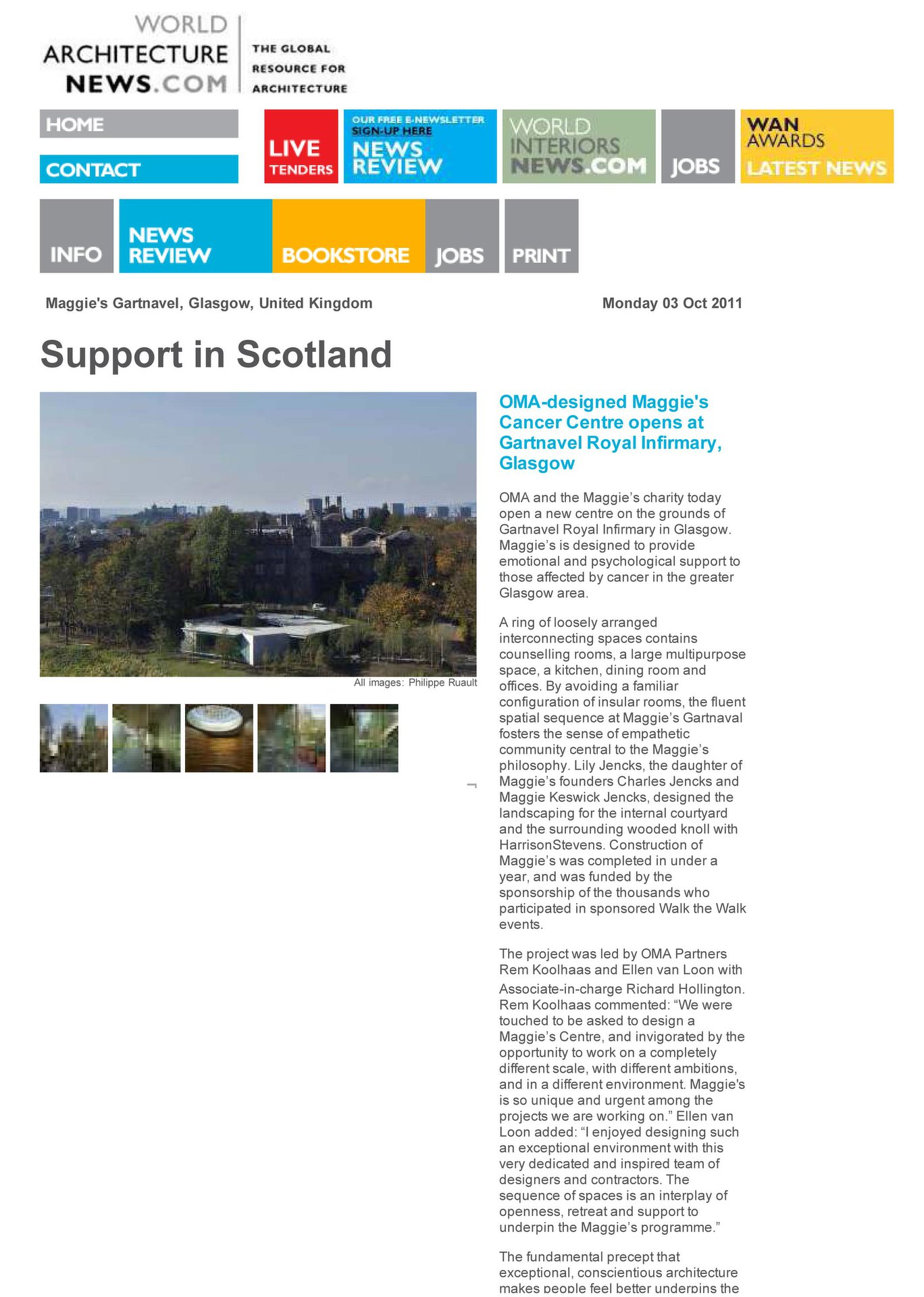 SUPPORT IN SCOTLAND