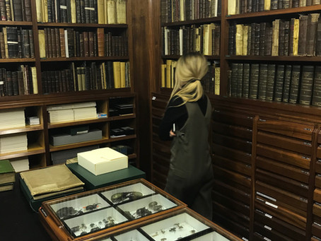 Exciting visit @ Linnean Society