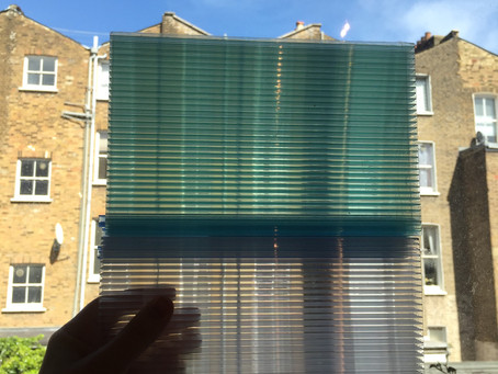 Comparing polycarbonate and kalwall semi-opaque wall systems for a residential project.
