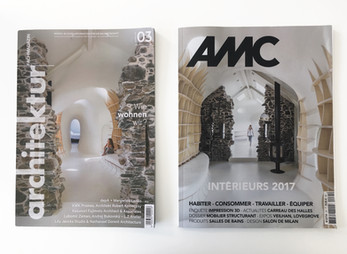 Ruins Studio, winner of RICS Award, and Surface Design Award is now on the cover!
