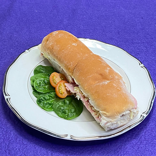 Cheese, Ham & Tomato Sub