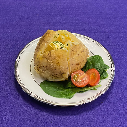 Baked Potato with Filling of Choice