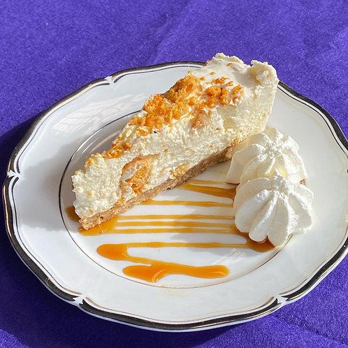 Lemon Cheesecake with Fresh Cream