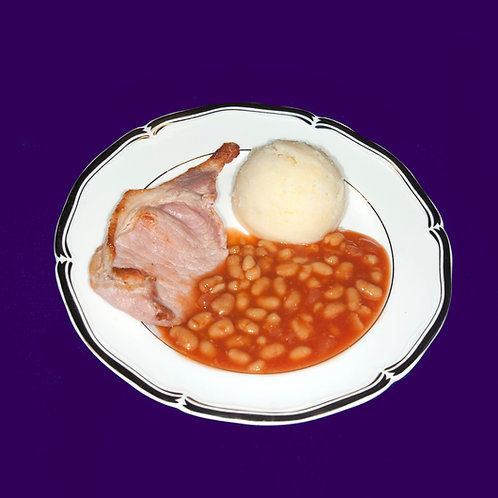 Mini Bacon Beans and Mash