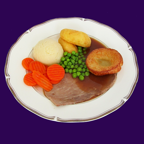 Roast beef & Yorkshire pudding
