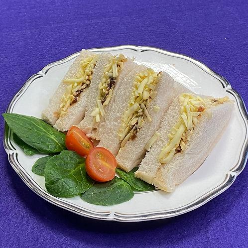 Ploughmans: Cheddar & Pickle Sandwich