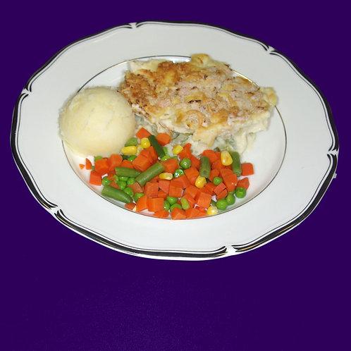Chicken and Leek Bake