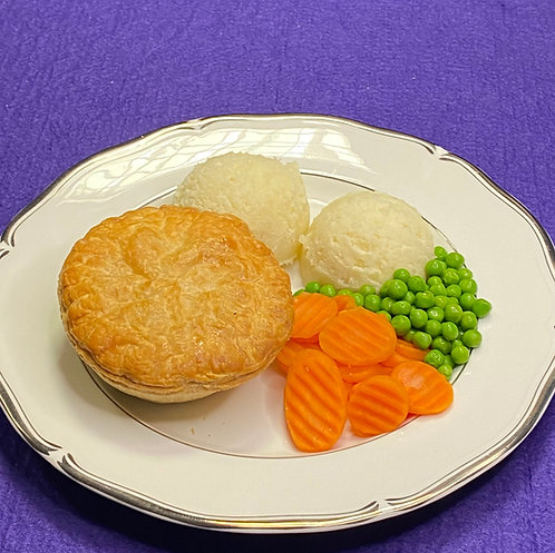 Chicken and Mushroom Pie Meal