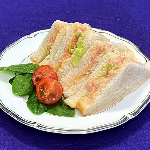Prawn Marie Rose Sandwich
