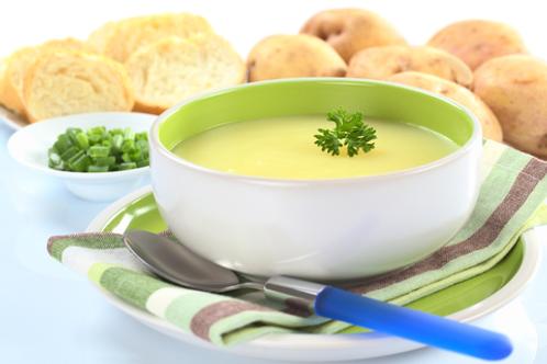 Cream of Leek & Potato Soup
