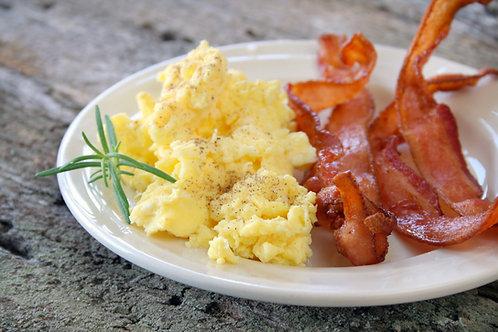 Scrambled Eggs & Bacon