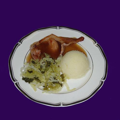 Mini Bacon & Cabbage