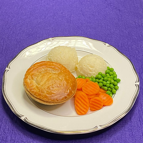 Chicken and Ham Pie Meal