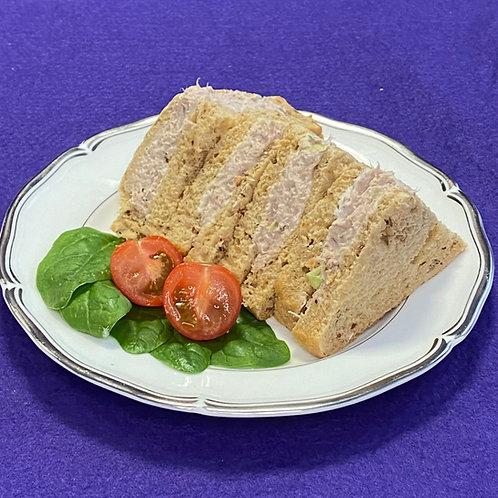 Tuna, Scallion & Mayo Sandwich