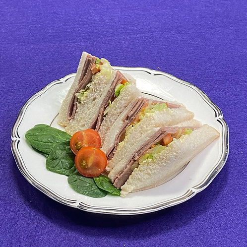 Roast Beef Salad Sandwich