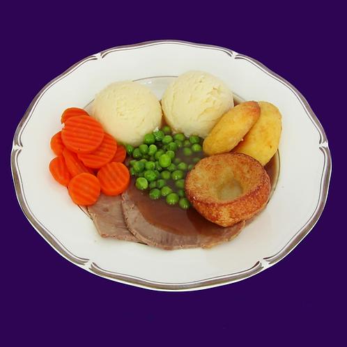Maxi Roast Beef & Yorkshire Pudding
