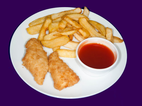 Mini Chicken Goujons with Sweet & Sour Dipping