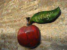 House Sign Apple Cottage