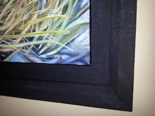 Hessian Frame detail