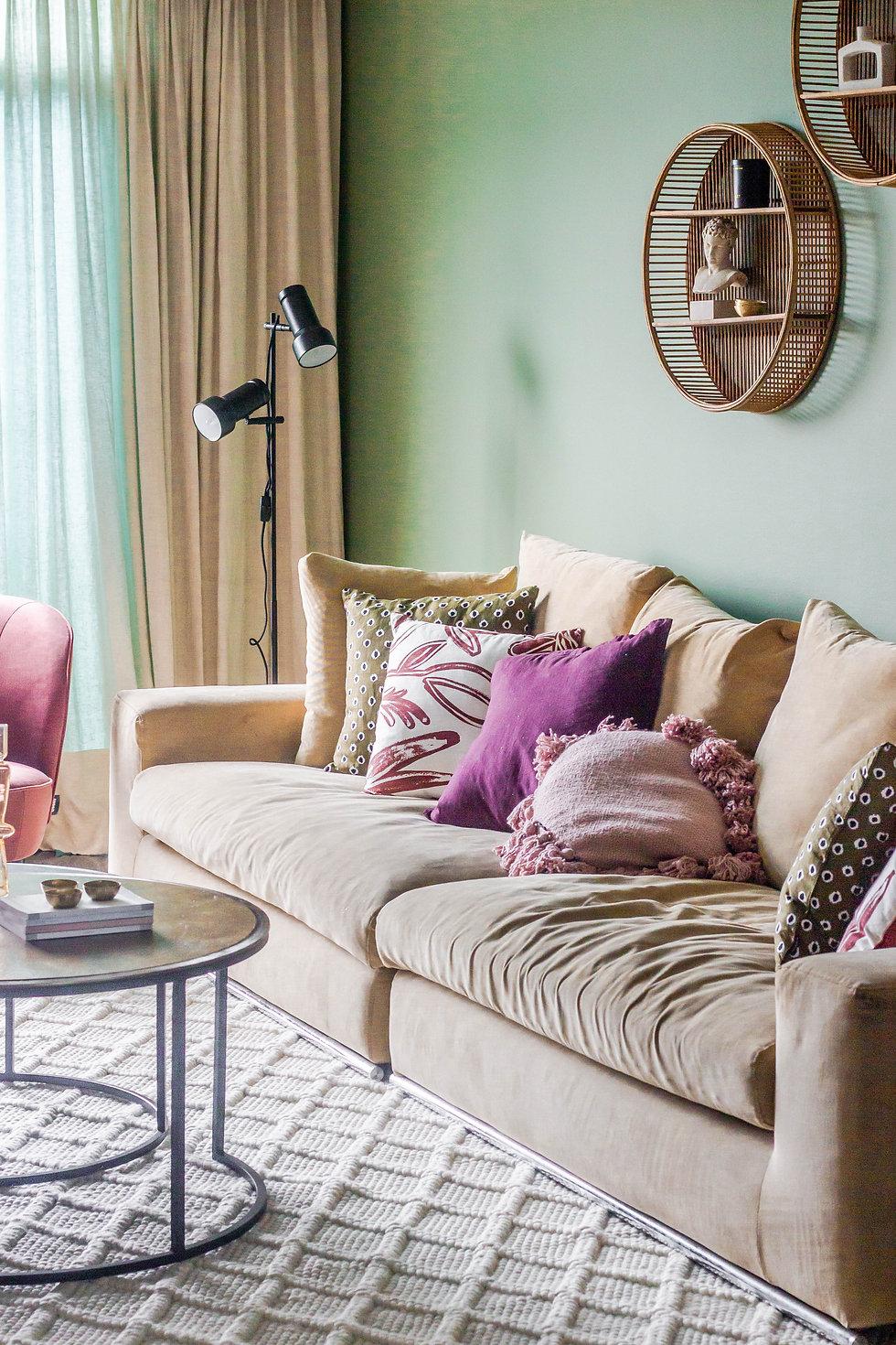 A Bold and Colourful Urban Apartment