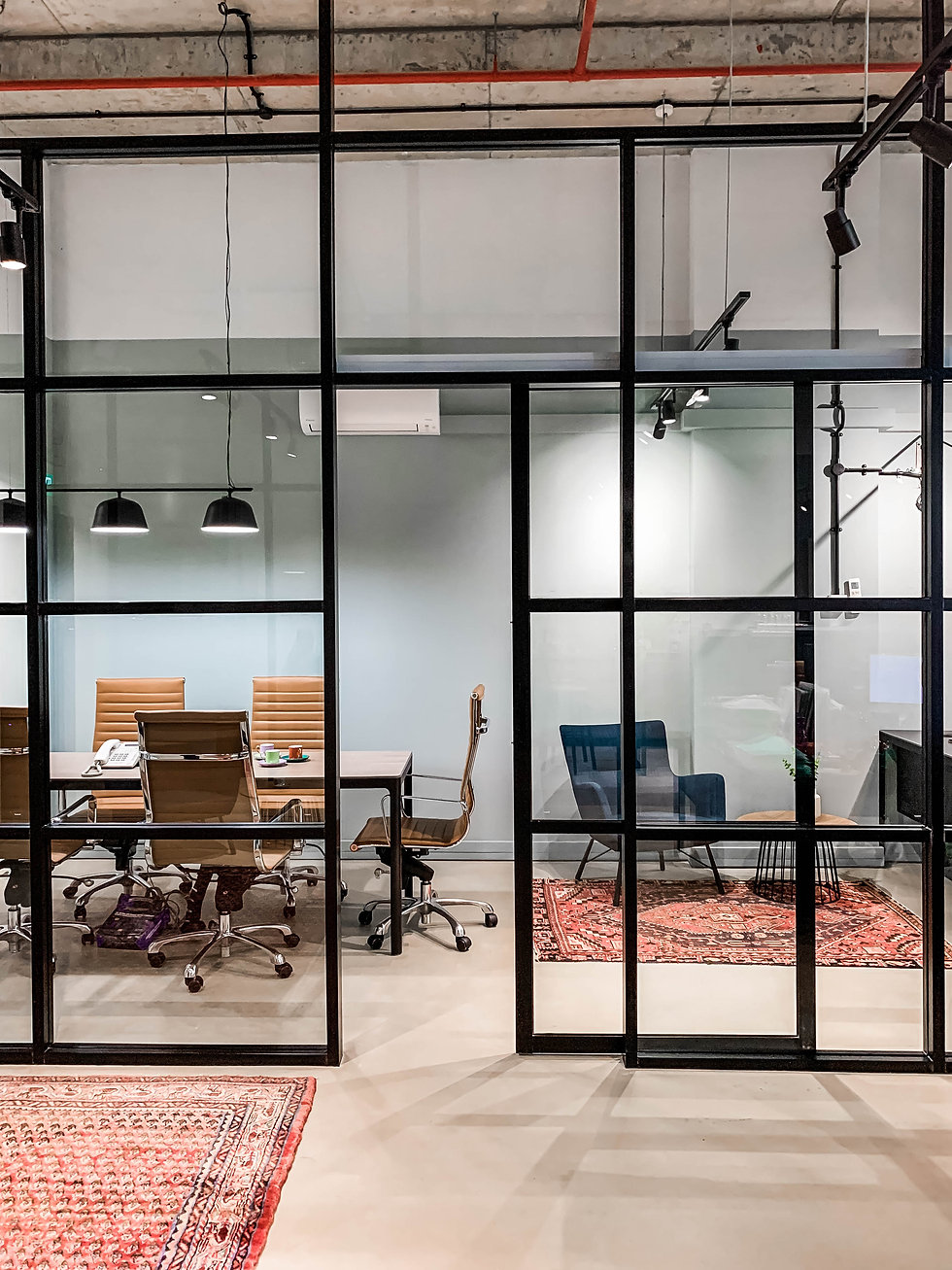 Contemporary Industrial Office Design