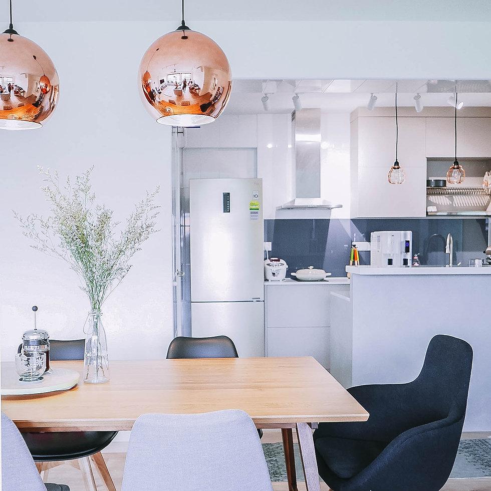 Scandinavian Luxe Inspired HDB