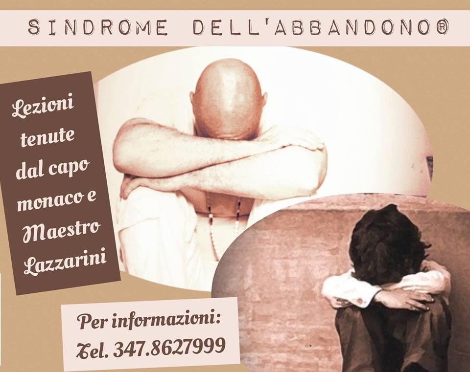 Maestro Lazzarini - Sindrome dell'abbandono