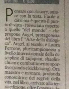 """Recensione su """"Il Corriere Adriatico""""!"""