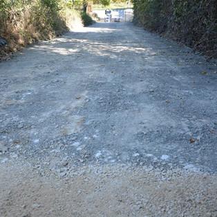 Nuova strada d'accesso