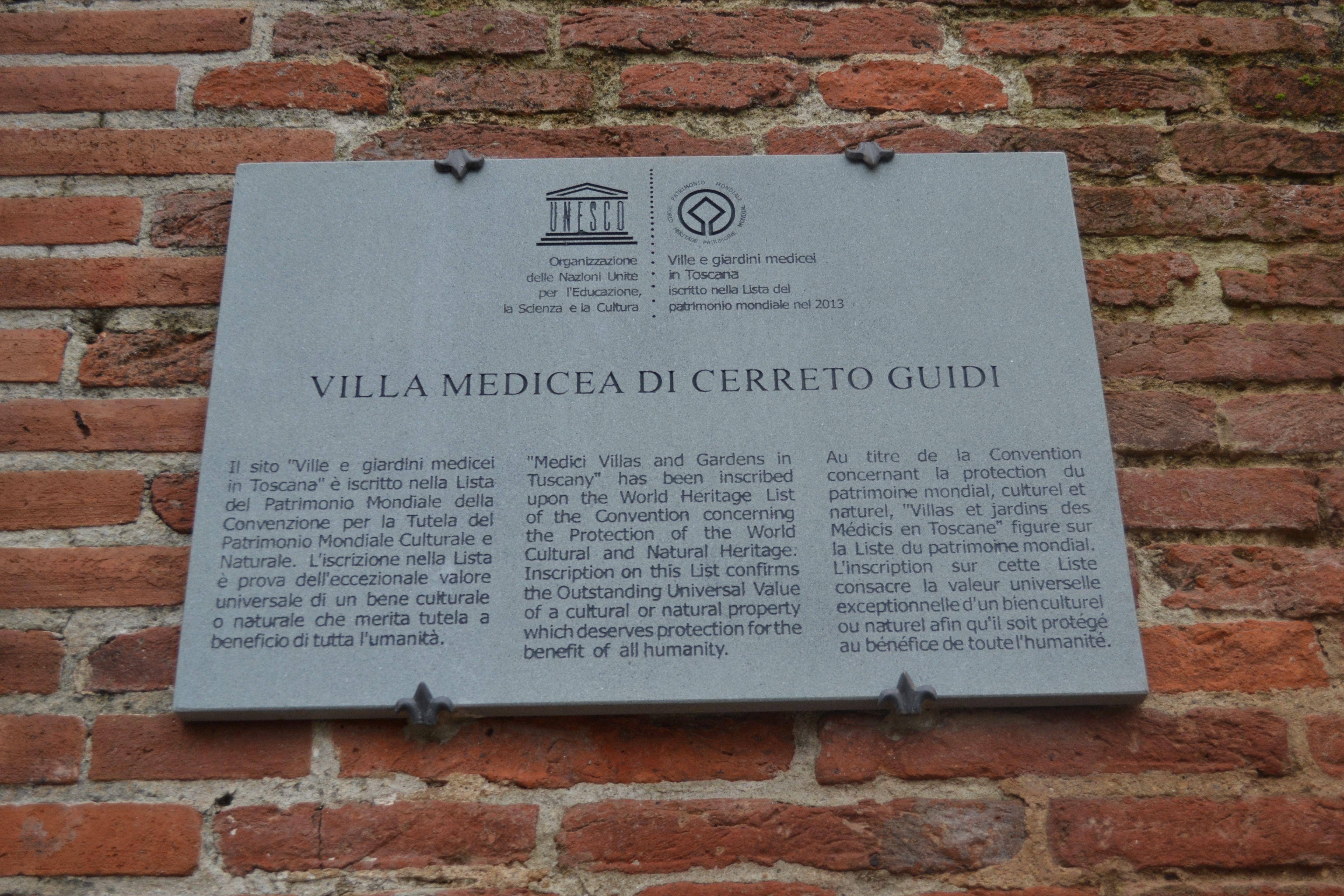 Villa Medicea 2014