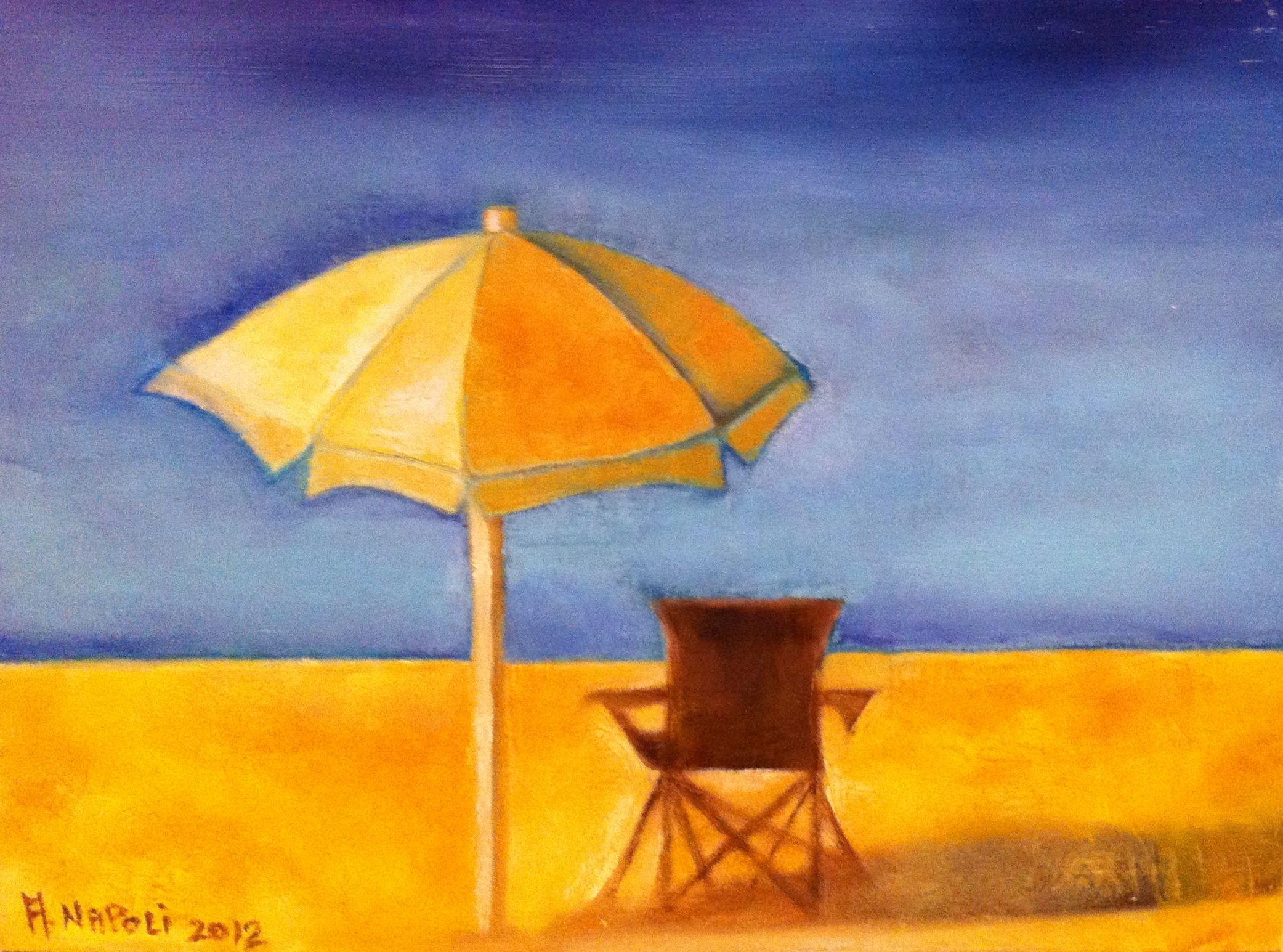 Sun Umbrella with chair