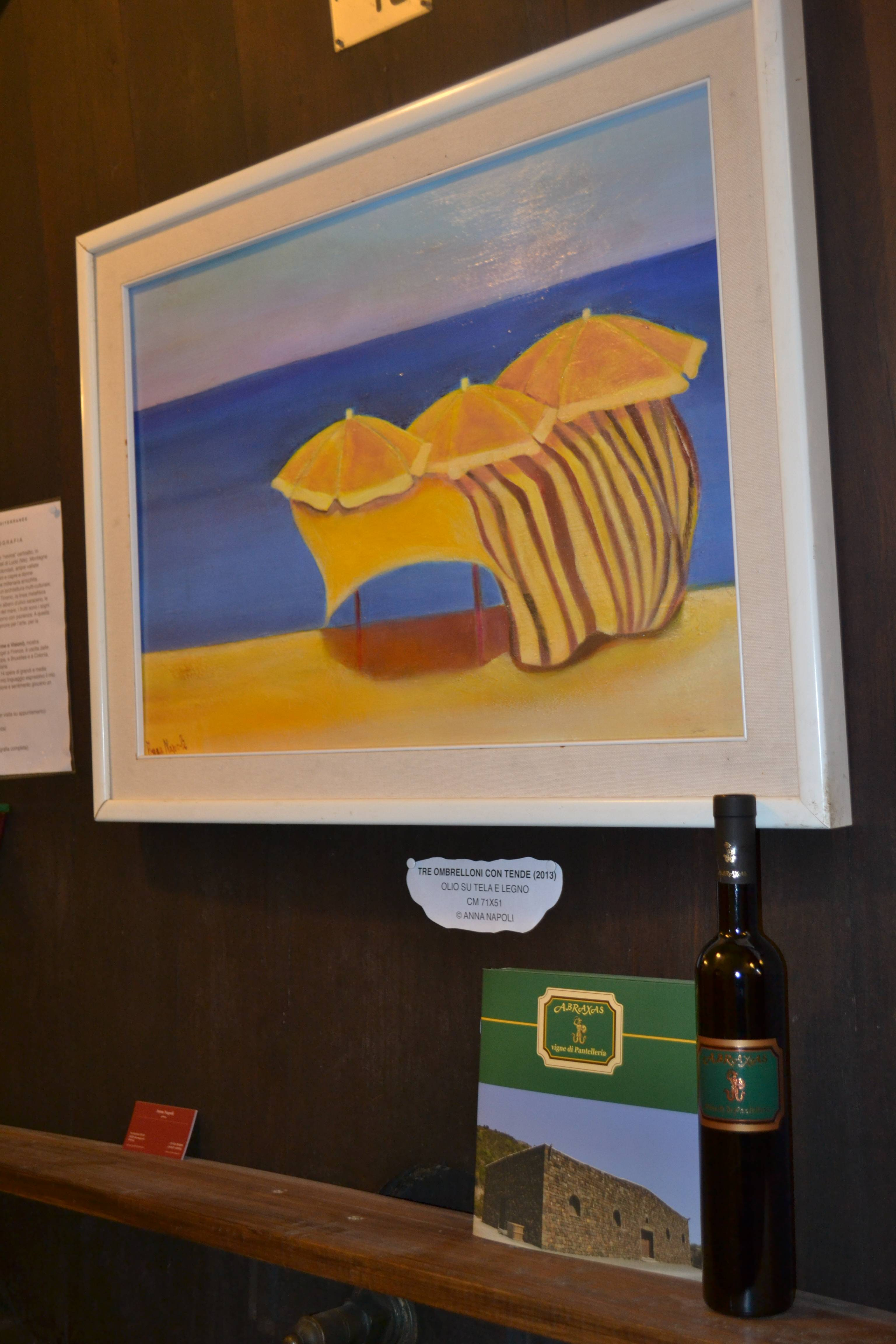 Sponsor Mostra Azienda Vitivinicola Abraxas Pantelleria