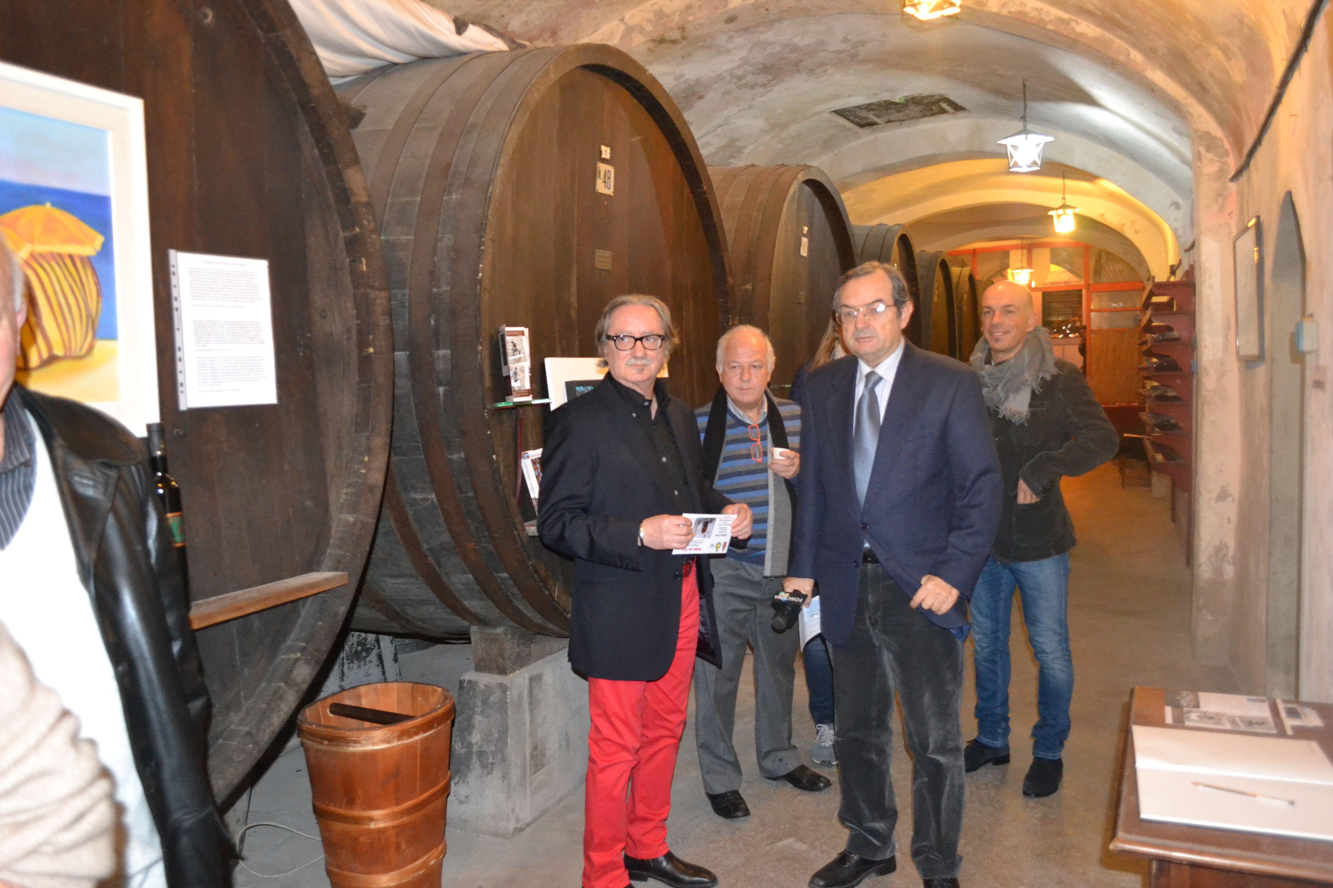 Fabrizio Borghini, Claudio Caioli, Roberto Lamentar Cantine Verdi Villa medicea 2014