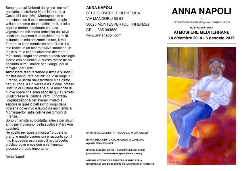 Anna Napoli, Villa Medicea,