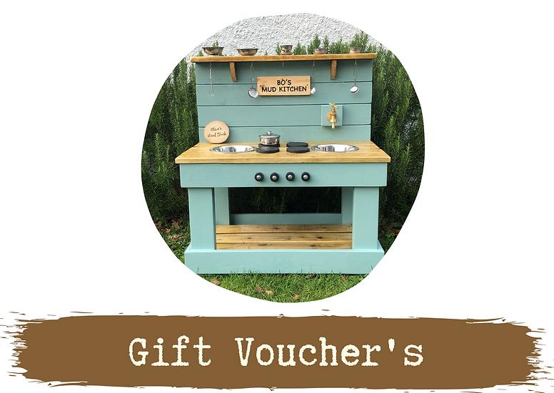 E-Gift Voucher's - From £10
