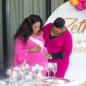 Zethu Babyshower event