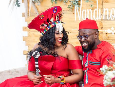 Nandi No Mulalo - A stunning Zulu & Venda inspired wedding with a modern twist.