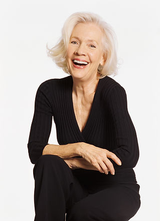 Rire femme d'âge mûr